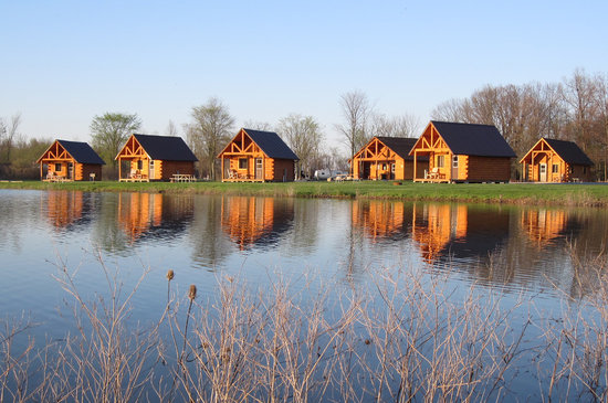 Grand Island, Nowy Jork: Log Cabins for rent