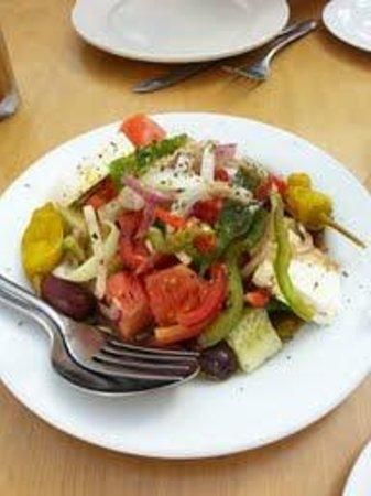 Athena Greek Restaurant: Greek village salad