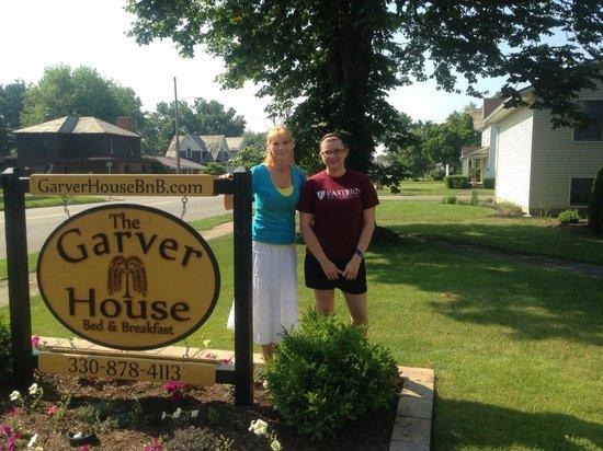 The Garver House Bed & Breakfast : B&B Stay in June 2013