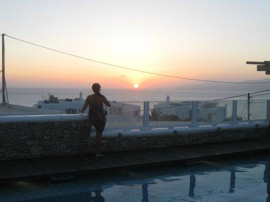 Damianos Hotel: vista desde la piscina