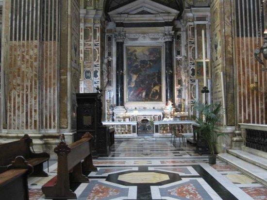Chiesa del Gesu e dei Santi Ambrogio e Andrea : Chiesa del Gesù a Genova.