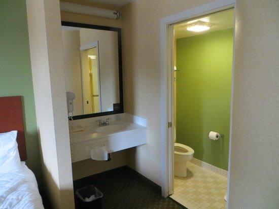 Sleep Inn Allentown: Bathroom.