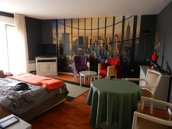 Residence Carouge: View from bed