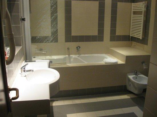 Hotel Torino: baño