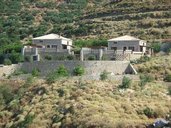 Falasarna Villas: Falassarna Villas - view from village of Platanos