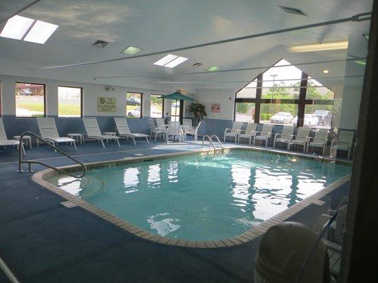 Comfort Inn & Suites: Pool.