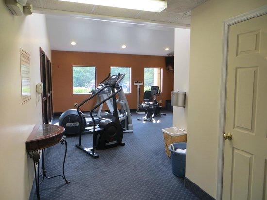 Comfort Inn & Suites: Fitness room.