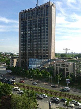 Comfort Hotel Lichtenberg: Vista desde habitacion