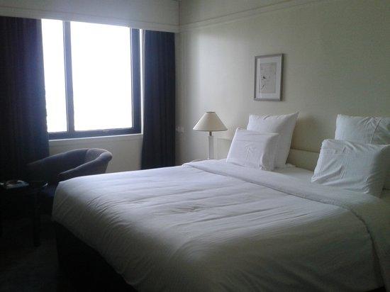 Chambre avec lit king size de qualité - Photo de Pullman Paris ...
