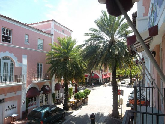 Espanola Way Suites: Balcon