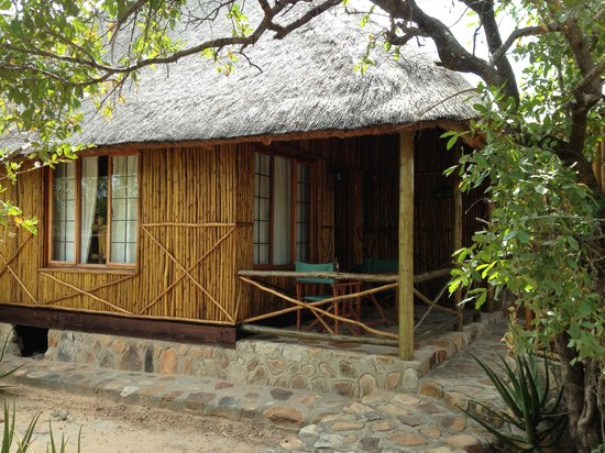 Moholoholo Game Lodge : The chalet