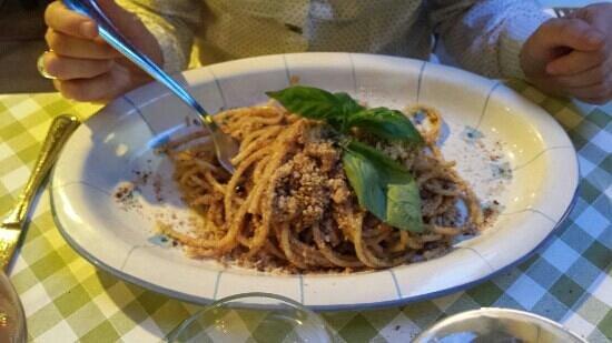 Siciliainbocca in Prati : pasta con le sarde