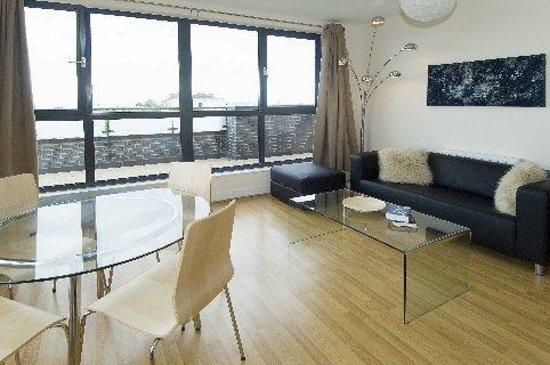 Cheltenham Luxury Apartments: Living Area