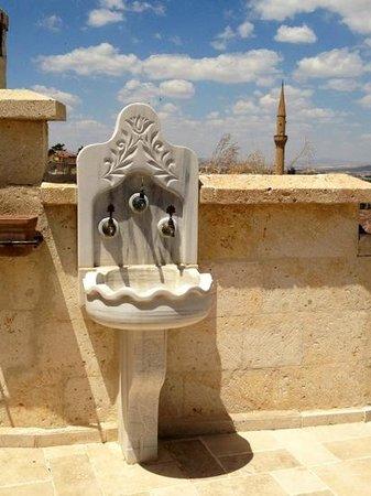 Perimasali Cave Hotel - Cappadocia: Rooftop do Perimasali Cave Hotel