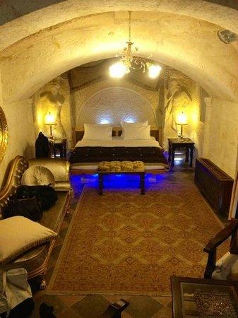 Perimasali Cave Hotel - Cappadocia: Caverna suíte Daphne, onde ficamos hospedados.