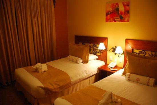 Imperio Machupicchu Hotel: Twin beds were comfortable