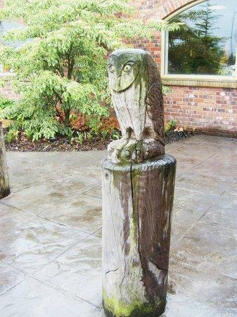 Barton Grange Garden Centre - Workshops: One off many on the entry walk ..