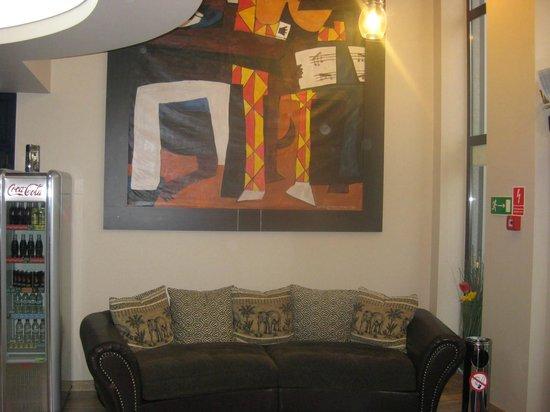 Hotel Picaro - Zarska Wies Polnoc: Reception area (live looks much better then in picture)