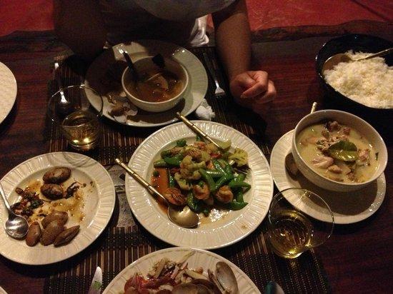 Tonnam Homestay : un repas délicieux préparé par Pom