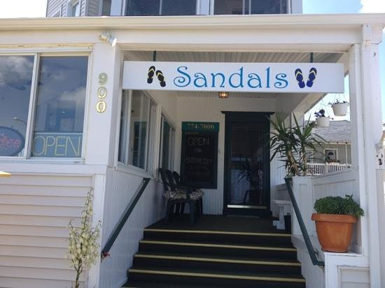 Sandals: Add a caption