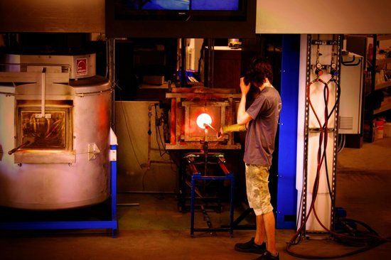 National Glass Centre: Heating the glass