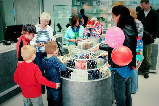 National Glass Centre: Who DOESN'T like marbles?