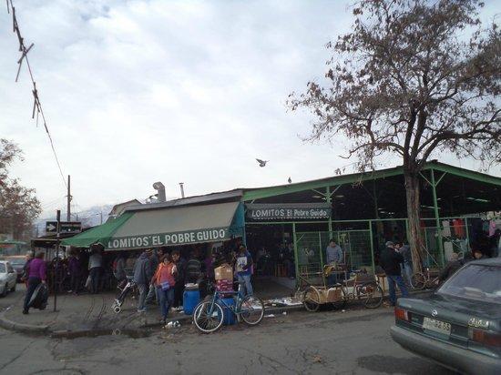 Bio-Bio Market : Santiago de Chile. Persa Bío-Bío. Calle San Isidro.