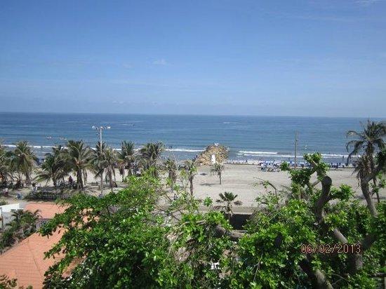 Playa Club Hotel : desde el sexto piso