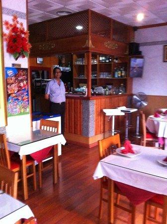 Restaurante Taj Mahal: The Bar
