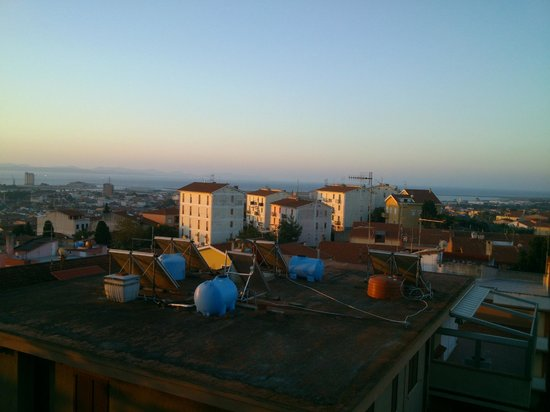 Bed & Breakfast La Pineta : ausblick vom zimmer