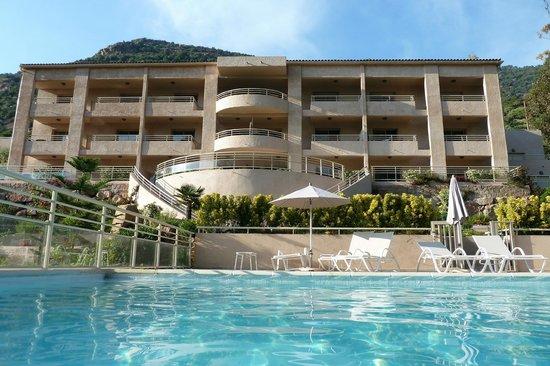 Hotel et Residence Costa Rossa: Rückansicht