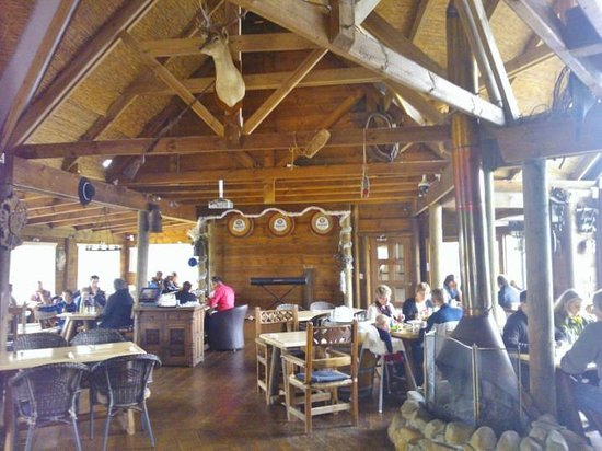 Bavarian Grill Haus: Inside the restaurant
