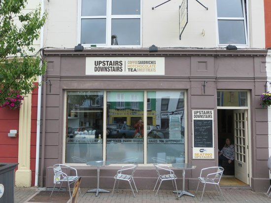 """Upstairs Downstairs Cafe: Your """"Coffee-Stop"""" in Clifden, County Galway!"""