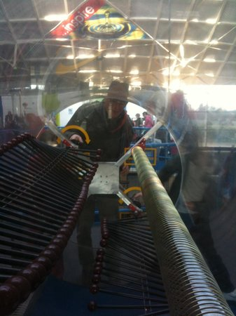 Winchester Science Centre and Planetarium : Inside Intech