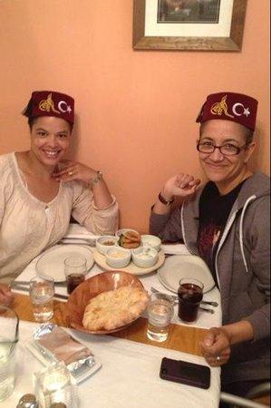 Turkish Grille Restaurant: enjoying our mezzé!