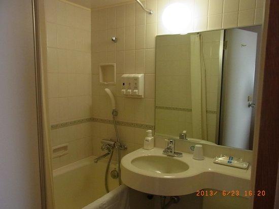 Comfort Hotel Komatsu: 清潔感のあるバスルーム