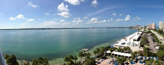Clearwater Beach Marriott Suites on Sand Key: can't beat this view from our room