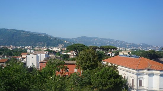 Hotel Cosmomare: дневной вид с балкона