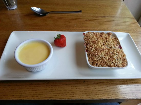 The Percy Arms: Summer Fruit Crumble