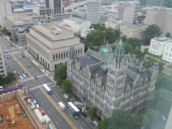 City Hall Observation Deck: View of Old City Hall from observation deck of  New City Hall