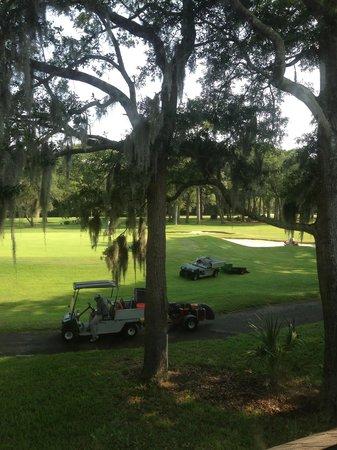 George Fazio Golf Course: Early morning work