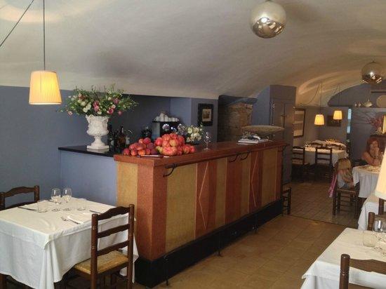 Bascara, Spain: El restaurante pessebre.. productos de la huerta...