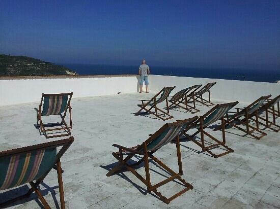 B&B Villa Passiaturo: terrazza panoramica