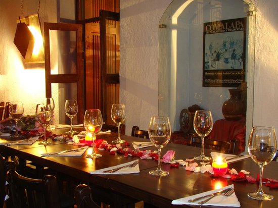 Michos : evening dining