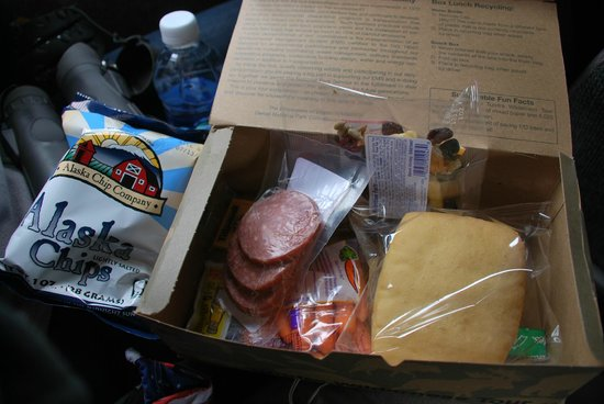 Image result for denali tundra wilderness tour box lunch items