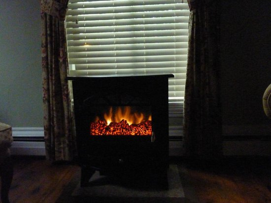 Inn On Carleton: Cute heater to take the early morning chill