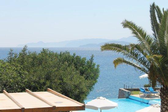 St. Nicolas Bay Resort Hotel & Villas: view from room of Med