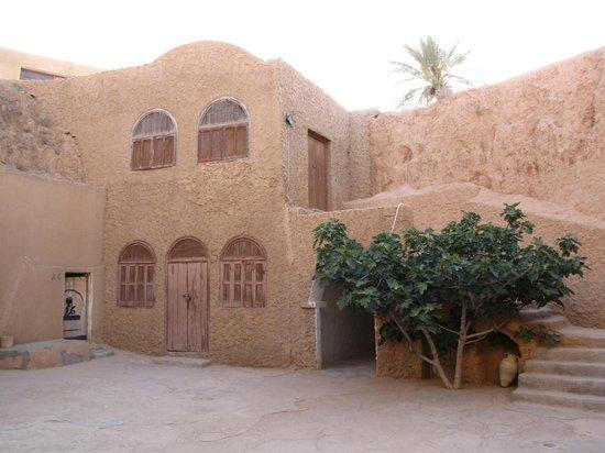 Hotel Marhala: court yard