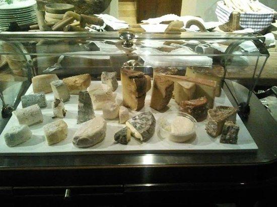 carrello dei formaggi (bucunà)