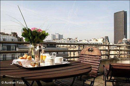 Villa Luxembourg: Terrace
